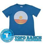ショッピングSALE TOPO RANCH Tシャツ SUNDROP TEE  メンズ 半袖 プリント 綿 USAコットン100%