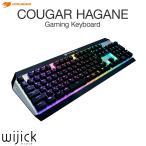 クーガー ゲーミング キーボード COUGAR HAGANE gaming keyboard USB 日本語 配列 アルミニウム構造 フルカラー RGB Cherry 青軸