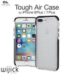 iPhone7 Plus ケース 耐衝撃 ハード TPU クリア ブランド アイフォン7 プラス Case Mate Tough Air Case カバー 衝撃吸収 ブラック