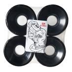 ソフトウィール SMBLANKS 59mm78a // (猛反発)// 黒無地(ブラック) エスエムブランクス スケボー スケートボード