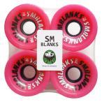 スケボー スケートボード サーフスケート クルーザー ソフトウィール SMBLANKS エスエム 70mm78a 高反発ソフトウィール HIGH GRADE ピンク
