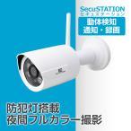 防犯カメラ ワイヤレス SDカード録画 監視カメラ 暗視 ドーム