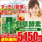ショッピングダイエット 野草酵素 約24ヵ月分 サプリ ダイエットサプリ 簡単 ダイエット 野菜 野草 EnzymeDiet
