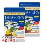 お試し ポイント消化 バリューセット DHA EPA オメガ3 αリノレン酸 亜麻仁油 エゴマ油配合 贅沢なDHA+EPA 約2ヵ月分 送料無料 サプリ サプリメント