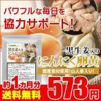 お試しセール限定価格! 黒生姜入り にんにく卵黄+山人参カプセル 約1ヵ月分