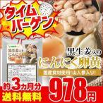 黒生姜入り にんにく卵黄+山人参カプセル 約3ヵ月分 ウルトラタイムセール サプリ サプリメント