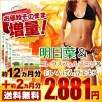 明日葉&コレウスフォルスコリ&白いんげん豆エキス スーパー増量セール 約14ヵ月分 サプリ サプリメント