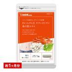 白いんげん豆&キチンキトサン&桑の葉エキス 約1ヵ月分 【1m】