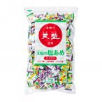 (代金引換不可/同梱不可)天塩の塩あめ ミックス(日向夏・パイン・ぶどう) 1kg×10袋(A&B)(送料込み)