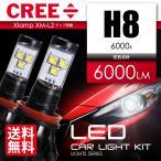 LED ヘッドライト H8 LED フォグランプ CREE 3000ルーメン 6000K