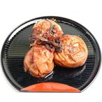 【紀原食品】本場紀州和歌山産 南高梅使用 しそかつお梅 1kg 2L〜4L【わかやま】【うめぼし】【梅干し】