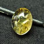 シトリン水晶 ルース t358-1432