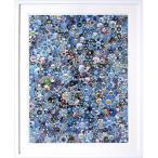 村上隆 「Signal」オフセット印刷 額付き シグナル 額外寸680x840mm モダンアート 現代美術 フラワー B4848