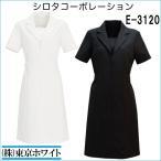 エステサロン 衣料 女性 美容制服 ユニフォーム シロタ E-3120 ワンピース S〜LL