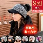 帽子 レディース 秋冬 ニット帽 大きいサイズ キャスケット 防寒 キャップ ゆったり 裏起毛 あったか UV 対策 暖かい 防風 秋 冬  防寒対策 送料無料