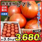 トマト数量限定特価 熊本産 トマト 約3.5kg1箱 ご家庭用 送料無料 野菜 食品 グルメ 国華園
