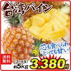 台湾産 パイナップル 5kg 3〜4玉 送料無料  国華園 パイン 金鑚 金鑚鳳梨 【4月下旬〜発送】