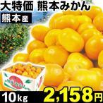 大特価 熊本産 みかん 10kg1箱