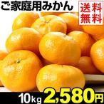 みかん 和歌山産 ご家庭用 みかん 10kg 1組 送料無料 サイズ:S〜3L無選別