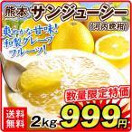みかん 和製グレープフルーツ 熊本産 河内晩柑 2kg 【2セット目から送料無料+増量あり】