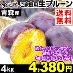 プルーン 青森南部産 ご家庭用 プルーン 4kg 1組 送料無料
