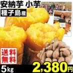 安納芋 種子島産 安納芋 小芋 5kg1箱 送料無料 さつまいも 食品
