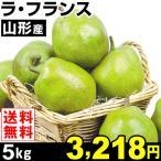 梨 山形産 ラ・フランス 5kg1箱 洋梨 送料無料 食品