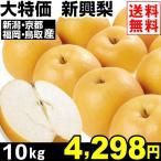 梨 大特価 新興梨 10kg1箱 送料無料 梨 しんこう梨 食品 グルメ