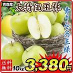 りんご 青森産 王林 10kg1箱 送料無料 林檎 食品