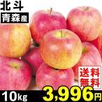 りんご 北斗 10kg1箱 青森県産 林檎 食品 グルメ 果物