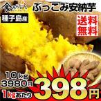 安納芋 種子島産 ふぞろい安納芋 10kg1箱 送料無料 ご家庭用 さつまいも 数量限定 グルメ