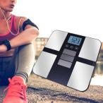 ソーラー式 体重計 (体重体組成計)|体重計 体脂肪計 内臓脂肪 ヘルスメーター おしゃれ デジタル ソーラー式 ダイエット 健康管理 体重管理 脱衣所 薄型