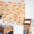 かるかるブリック 100枚 両面テープ4個付 | 美濃焼 タイルブロック 壁紙 壁用 おしゃれ リフォーム 模様替え セラミック タイル ブロック DIY 生活用品