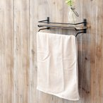 アンティーク調 タオルハンガー   木製 アンティーク DIY インテリア 雑貨 トイレ用品 生活雑貨 タオル掛け たおるハンガー 取り付け簡単 たおるかけ 脱衣所