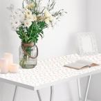 テーブルに貼って剥がせる デザインシート 90cm×150cm|テーブルランナー テーブルクロス おしゃれ インテリアシート テーブルシート デコレーションシート
