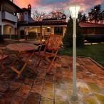 北欧風 庭園ライト ソーラータイプ|屋外対応 大型LED 電源コード不要 庭 ガーデンライト ガーデンソーラーライト 照明 屋外 ガーデニング 野外 ガーデン