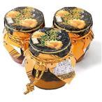 雲丹(うに)めかぶ 450g (瓶150g 3本セット)  めかぶの佃煮と塩ウニ /常温便