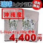 ショッピング琉球 琉球ムクナ(ムクナ豆・八升豆)沖縄で栽培された無農薬の国産品(豆粉) 200グラム  Lドパー含有