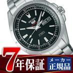 ショッピング自動巻き SEIKO セイコー メカニカル セイコー5 スポーツ メンズ腕時計 自動巻き 手巻き ブラック SARZ005 正規品【ネコポス不可】