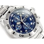 正規品 逆輸入 SEIKO セイコー クォーツ 高速クロノグラフ メンズ 腕時計 ブルーダイアル シルバー ステンレスベルト SNDD97P1 ネコポス不可