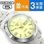日本製逆輸入 SEIKO5 セイコー5 機械式自動巻き メンズ 腕時計 SNKK19J1