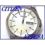 『CITIZEN ATTESA』シチズン アテッサ チタン エコ・ドライブ電波時計 AT6010-59P