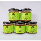 小田原屋 食べるオリーブオイル 単品 5本セット 110g 面白いラベル 調味料 ごはんのお供 まとめ買い