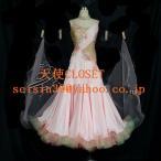 社交ダンス ドレス モダンドレス 競技用ドレス サイズ製作可 i92