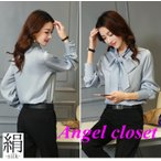 Yahoo!天使CLOSETシルクシャツ 最高級正絹シルク生地シャツ ブラウス サラサラ 汗取り 5色