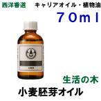 生活の木 小麦胚芽オイル (別名 ウィートジャームオイル)70ml キャリアオイル (ベースオイル)