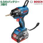 ボッシュ BOSCH プロ用バッテリーインパクト ブラシレス 6.0Ah+6.0Ah GDR18V-EC6 基本送料無料