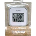 タニタ TANITA デジタル温湿度計 グレー TT-558-GY 温度計 置き掛け両用