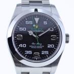 ROLEX ロレックス エアキング 116900 ブラック メンズ
