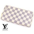 ショッピングLOUIS LOUIS VUITTON ルイ ヴィトン ダミエアズール 小銭入れ付き長財布 ジッピー・ウォレット N41660 新型